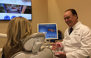 dental exam with san diego dentist